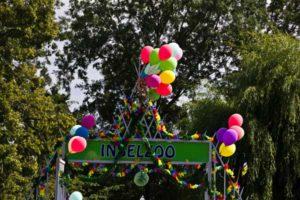 Inselzoo zum Inselzoofest geschmückt (Foto: der uNi)